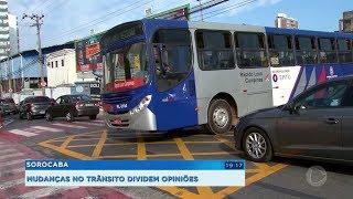 Urbes muda o sentido de circulação de ruas perto da rodoviária para melhorar o trânsito