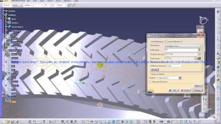 Catia V5 Tutorial|Automotive Engineering Design|How Create a Tyre(Easy Steps Beginners)|Part 5