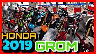 9. NEW 2019 HONDA GROM SHOPPING | VLOG