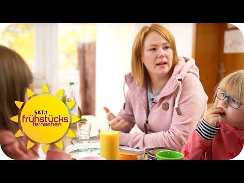 Verena ist in einer Beziehung mit zwei Männern! Wie steht ihr Mann dazu? | SAT.1 Frühstücksfernsehen