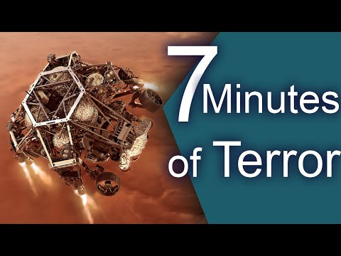 7 Minutes of Terror! How will the Perseverance Rover Land on Mars?