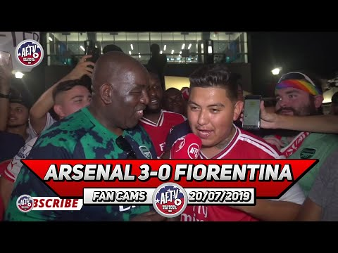 Arsenal 3-0 Fiorentina  | Stan Kroenke Needs To Have Our Passion!