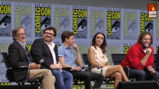 see the panel for ready Player One from SDCC San Diego Comic-Con, with director Steven Spielberg, screenwriter Ernest Cline, Tye Sheridan, Olivia Cooke, T.J. Miller, Ben Mendelsohn (Star Wars Rogue One)