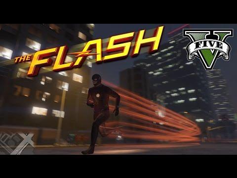 《GTA 5》閃電俠模組 世界最快男人一拳爆人爆車!