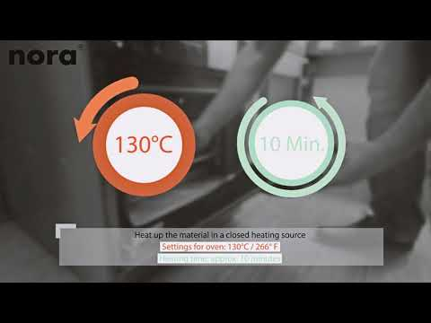 nora® Lunatec motion | product information and making an insole
