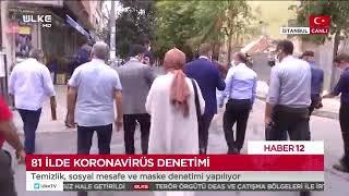 Gaziosmanpaşa'da Koronavirüs Denetimleri - Ülke Tv