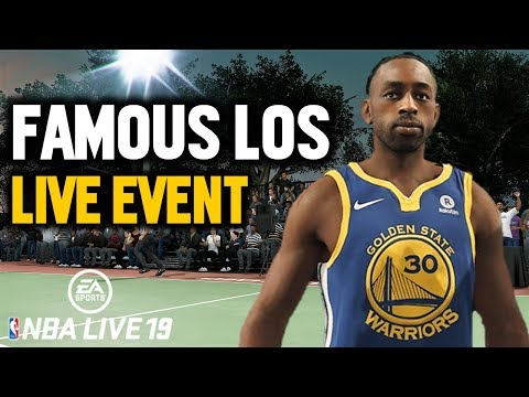 NBA LIVE 19 LIVE EVENTS | FAMOUS LOS & FUNG BROS IN LIVE