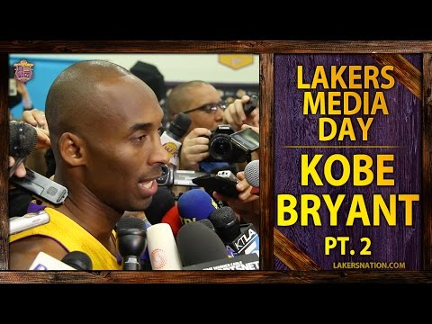 lakers - Kobe Bryant talks managing minutes and calmer start to camp at 2014 Lakers media day. Plus, how he can relate to Derek Jeter. Join the Largest Lakers Fan Site in the World http://LakersNation.com...