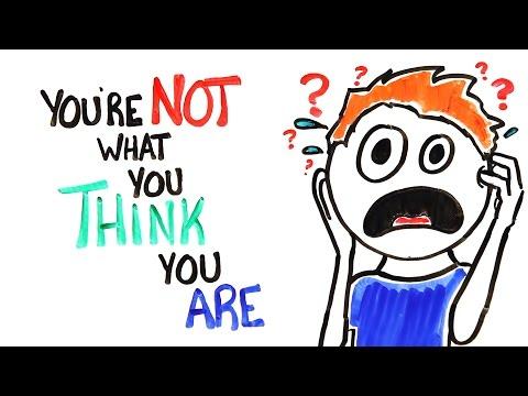 Nejste to, co si myslíte
