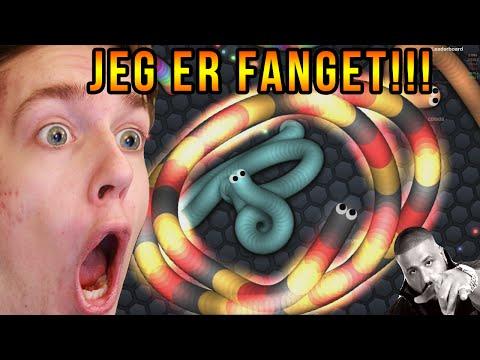 JEG ER NUMMER 1 | Dansk Slither.io | Sjove Spil