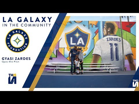 Video: Zardes, LA Galaxy and Herbalife Nutrition unveil two new mini-pitches in Hawthorne