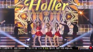 [1080p] 150122 [SNSD] TTS (Girls' generation) / Holler - Seoul Music Awards