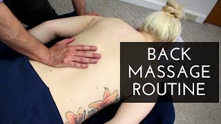 Video Massage Tutorial: Full Back Massage Routine MP3, 3GP, MP4, WEBM, AVI, FLV Januari 2019