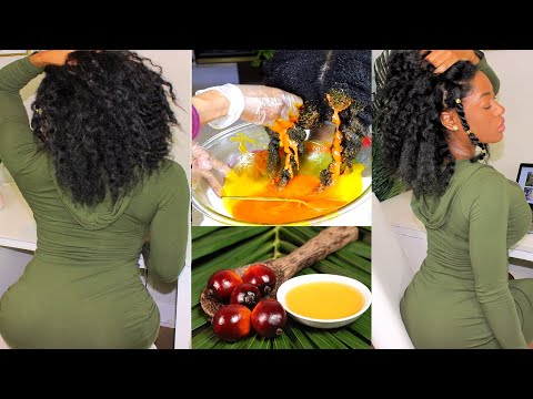 Grow Long 4C Hair Fast And Easy Using This Ancient Yoruba Oil Method