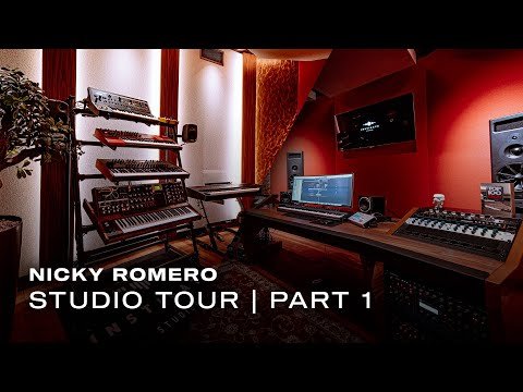 Nicky Romero Studio Tour | Part 1: Production & Live Room