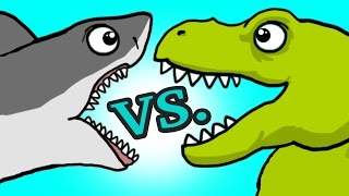 "Video ""My Cute Shark Attack Cartoon #45 (Team SHARK vs. ROBOT DINO +BEST OF!!) kids cartoon! MP3, 3GP, MP4, WEBM, AVI, FLV Juli 2018"