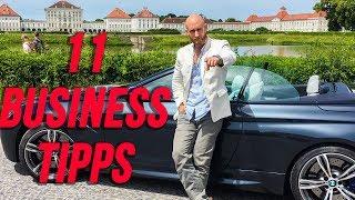 Du willst ein erfolgreiches Unternehmer starten? Mit diesen 11 Tipps wirst du auf jeden Fall dein Business Optimieren!Viel Spaß, euer Karl________________________________________________________________Erfahre die exakten Schritte zum Erfolg und wie ich mir ein Leben nach meinen Vorstellungen erschaffen konnte:►► https://entrepreneur-fastlane.com/erfolg________________________________________________________________In diesem Kurs zeige ich dir, wie ich mir eine Reichweite von über 1,2 Mio Menschen im Internet aufbaute und diese Reichweite dann monetarisierte und wie DU diese Strategien kopieren und selbst anwenden kannst, um deine Reichweite und deinen Umsatz zu verdoppeln!►► https://entrepreneur-fastlane.com/smms________________________________________________________________Hier geht es zum Leasing Video: https://youtu.be/CiRSRJJIk4E________________________________________________________________Du möchtest eine Saftkur machen oder einfach nur Säfte in höchster Qualität?Meine Säfte von der Yuicery findest du hier:►► https://yuicery.de/________________________________________________________________Mache den kostenlosen Fitness Test und erhalte meine 3 besten Tipps für deine Situation und dein Ziel:►► https://www.karl-ess.com/koerpertyp________________________________________________________________Bodywork360 - Endlich richtig Muskeln aufbauen mit dem richtigen Trainings- und Ernährungssystem:►► https://bodywork360.com/bw360________________________________________________________________Bodywork360 SHRED - Verliere endlich dein lästiges Bauchfett. Starte deine 12-Wochen-Transformation hier:►► https://bodywork360.com/bodywork-shred________________________________________________________________Vegan werden in nur drei Wochen!Wie du deine komplette Ernährung auf vegan umstellst inklusive Anleitungen mit veganen Rezepten und veganen Ersatzprodukten►► https://bodywork360.com/go-vegan________________________________________________________________Das richtige Online-Co