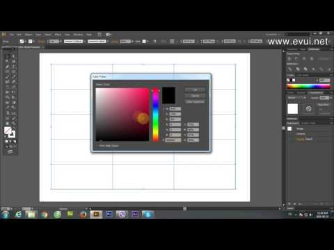 Hướng dẫn tạo bảng trong phần mềm Adobe Illustrator