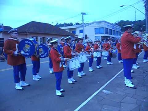 Banda Marcial La Salle Carmo - Dois Lajeados (01-09-2012)