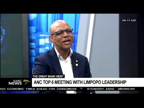 Anc Top 6 Meeting With Limpopo Leadership