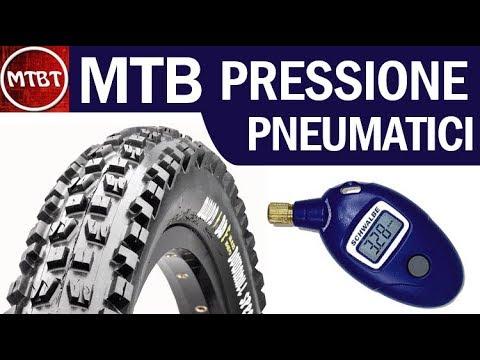 MTB pressione gomme | come trovare la pressione corretta con il manometro  | MTBT