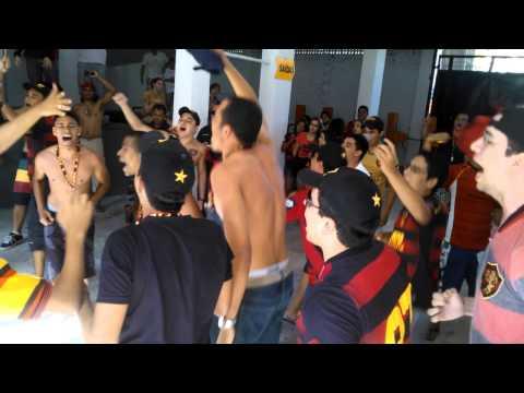 Video - Brava Ilha antes do Jogo. PTE Saída 3 Sport x Fluminense. - Brava Ilha - Sport Recife - Brasil