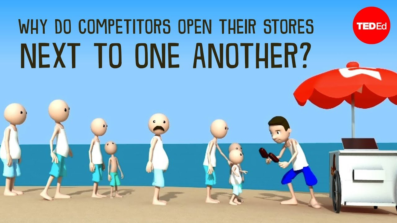 Video: Why do competitors open their stores next to one another?