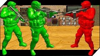War Of Toys - эта игра для тех, кто в детстве не наигрался в войнушки, солдатики. Динамический военный шутер о великом противостоянии пластмассовых солдатиков. Война игрушек-солдатиков в детской комнате, где ты играешь за зеленых солдат. Твоя задача защитить свой штаб от нападок противника и развалить три штаба красной команды, которые замаскированы под коробки красного цвета.Игра  War Of Toys (Война игрушек) обзор и прохождение с Воблером. Развлекательной видео для детей как мультик.                                   ▀ Подпишись на канал ➤ http://www.youtube.com/user/wobbler1t...▀ Подпишись на паблик VK ➤ http://vk.com/wobbler_game▀  ЗАКАЗАТЬ РЕКЛАМУ ➤ https://goo.gl/akqwOJНа канале ты увидишь: новинки игр 2017 года, симуляторы, песочницы, экшен-шутеры, различные инди игры. Самые топовые игры на андроид. А так же обзоры, летсплеи и прохождение игр на русском.