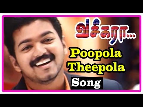 Video Vaseegara Tamil Movie | Songs | Poopola Theepola Song | Gayatri falls for Vijay | Sneha download in MP3, 3GP, MP4, WEBM, AVI, FLV January 2017