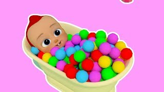 Bath Song | ABCkidTV Nursery Rhymes & Kids Songs Baby KidsTV - Nursery Rhymes