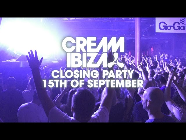 >Cream Closing Party @ Amnesia Ibiza 2016