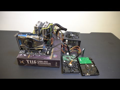 【Huan】 我用2500元組了一台6核心的剪輯電腦!