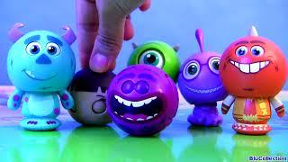Disney Roll a Scare Monsters University Surprise Pop-up Toys