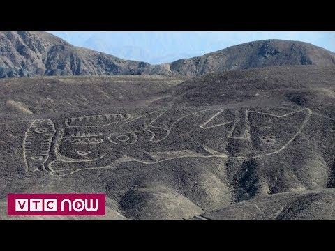 Xuất hiện hình vẽ khổng lồ bí ẩn ở Peru | VTC1 - Thời lượng: 44 giây.