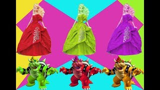 Video Learn colors Bowser Barbie   Learning of children - 아이들을위한 만화   아이들을 위한 애니메이션 MP3, 3GP, MP4, WEBM, AVI, FLV Januari 2018