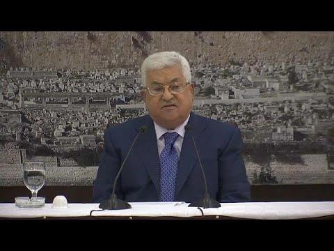 Palästinenserpräsident Abbas verhängt drei Tage der T ...
