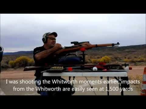 1,500 yards with a K-31 Swiss Rifle