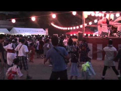 名古屋_藤が丘学区_盆踊り2011_ダンシングヒーロー.m2ts