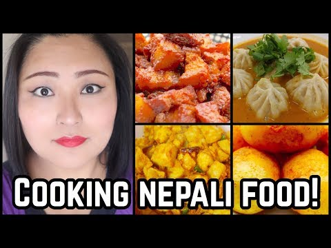 (COOKING NEPALESE  CUISINE ... 11 minutes.)