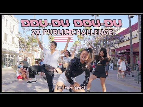 [2x Speed Kpop In Public Challenge] Kbm Dance | Blackpink - '뚜두뚜두 (ddu-du Ddu-du)' Dance Cover 댄스 커버