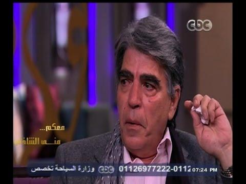 بكاء الفنان محمود الجندي على الوضع في بلده