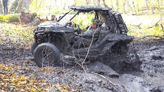 8. Polaris RZR XP 1000 EPS in Mud - Off-Road.