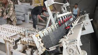 Better factory wholesale stone edge tilt cutting curbstone chamfering machine youtube video