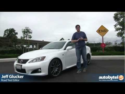 2013 Lexus IS F Video Review