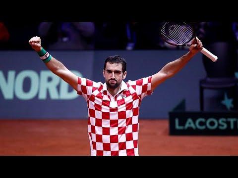 Davis Cup: «Πήρε κεφάλι» στον τελικό η Κροατία
