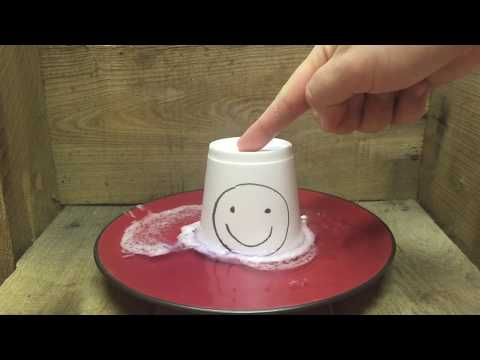 Melting A Styrofoam Cup With Acetone