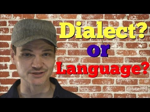 What`s the difference between a dialect and a language?