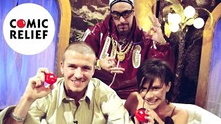David and Victoria Beckham did their bit for charity when they agreed to be interviewed by Ali G for Red Nose Day 2001. Little did they know what they'd let themselves in for.Subscribe ► http://bit.ly/1gXbQkj Visit Us ► http://comicrelief.comFacebook ► https://facebook.com/comicreliefTwitter ► https://twitter.com/comicrelief-------------------------------------------Thanks for all your support - sharing the video and leaving a comment is always appreciated. Please respect each other in the comments!Donate: https://www.comicrelief.com/donateOur mission is to drive positive change through the power of entertainment.© Comic Relief 2017. Registered charity 326568 (England/Wales); SC039730 (Scotland)