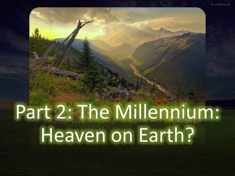 Millennium - DVD available at http://www.douglashamp.com/store/ - The Millennium: Heaven on Earth? If the earth is destroyed and the heavens pass away at the second Tof J...
