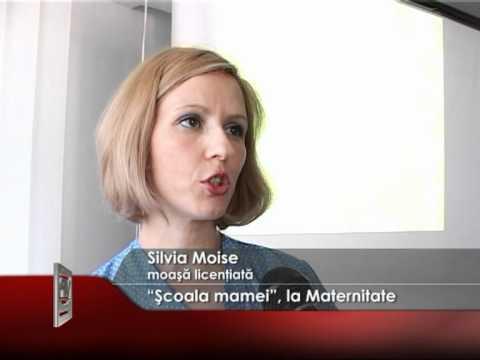 """""""Şcoala mamei"""", la Maternitate"""